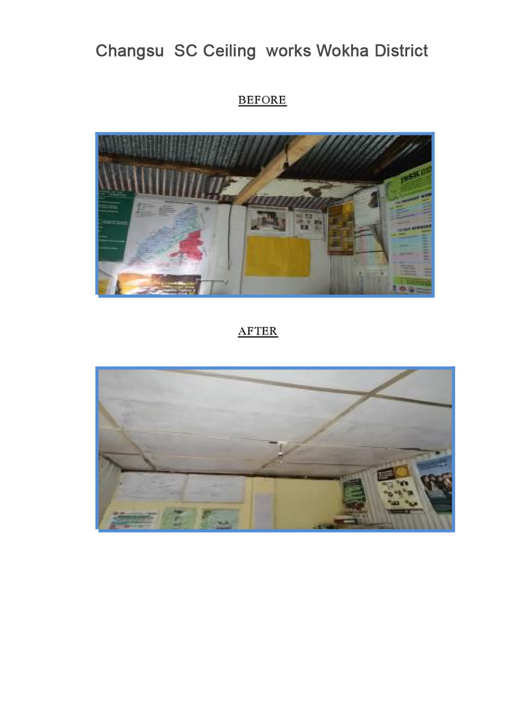 Changsu--SC-Ceiling--works-Wokha-District