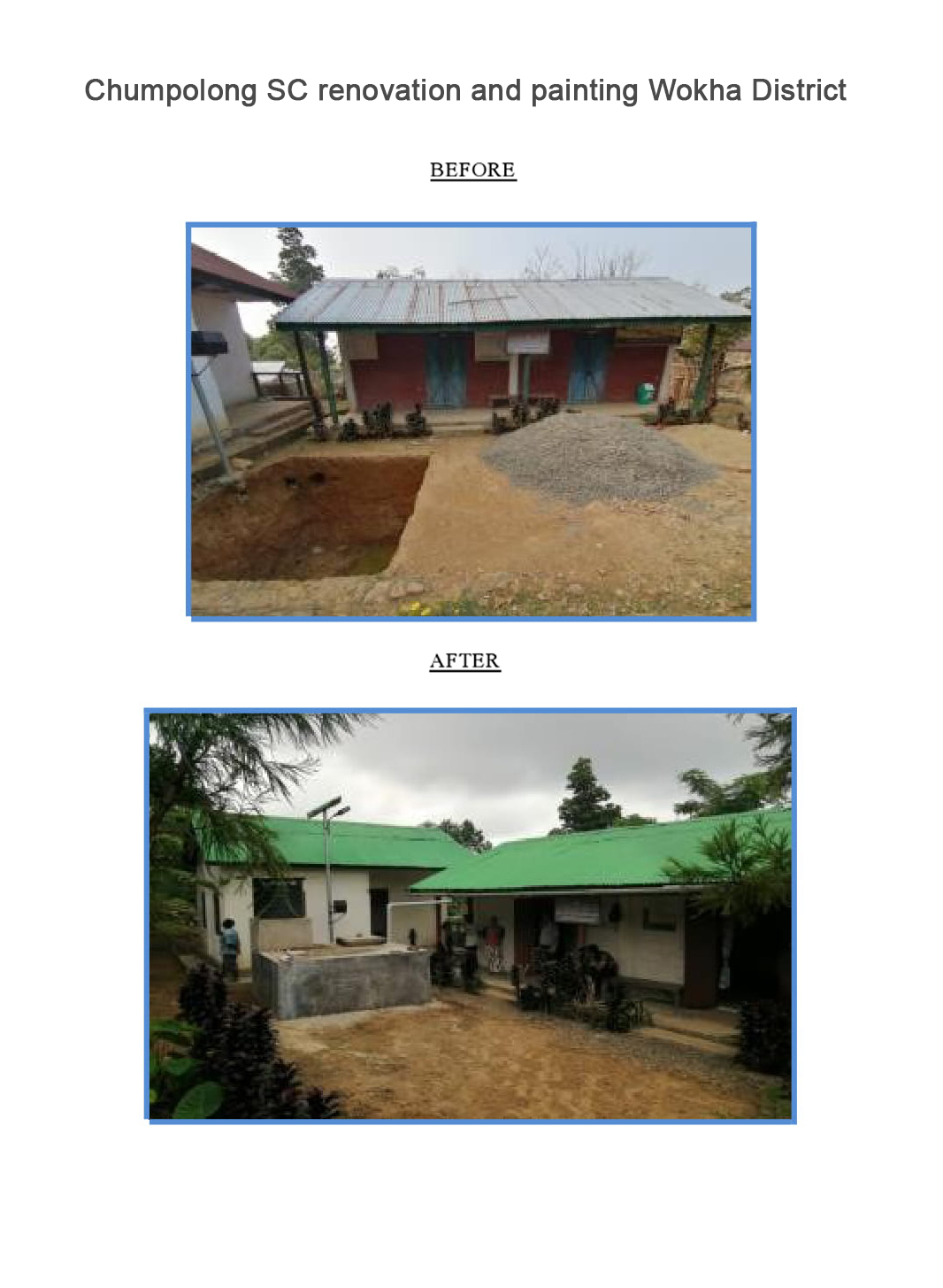 Chumpolong-SC-renovation-and-painting-Wokha-District