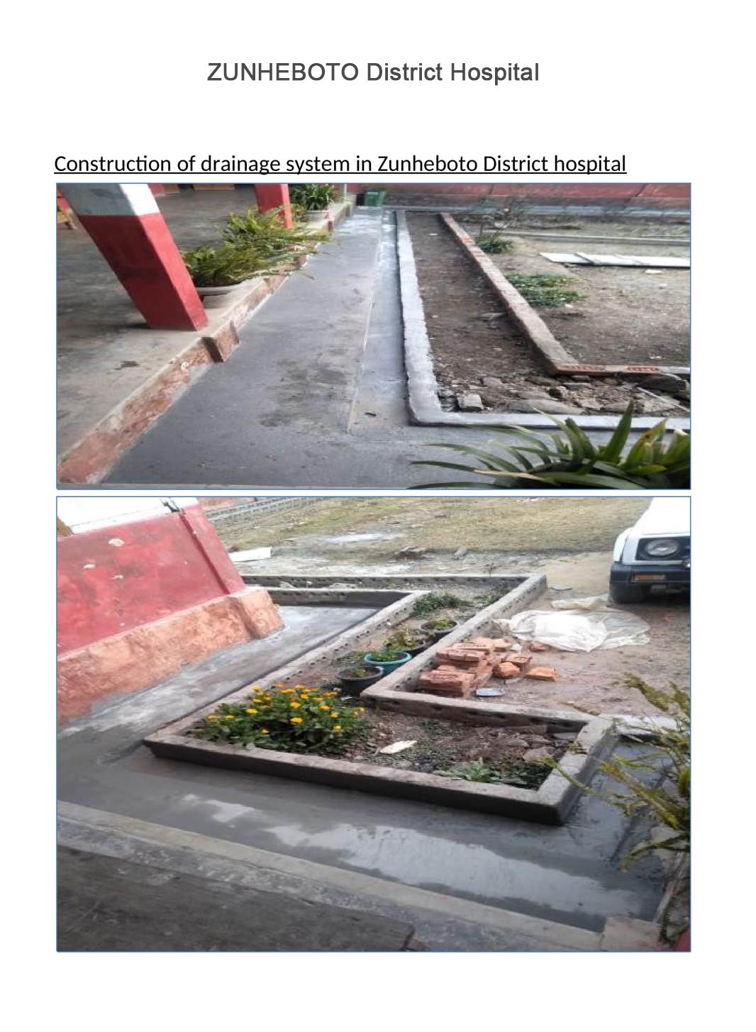 Construction-of-drainage-system-in-Zunheboto-District-hospital