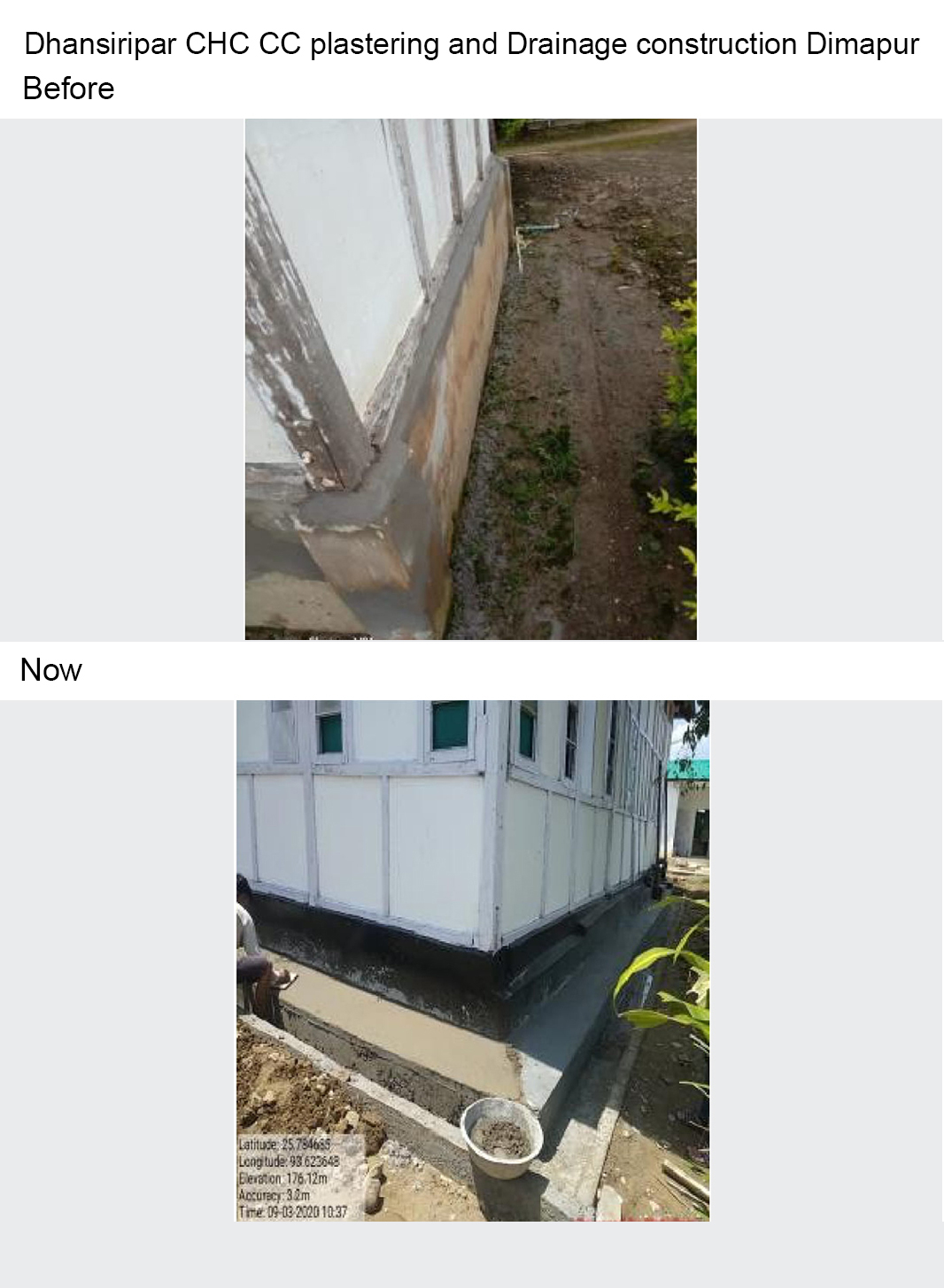 Dhansiripar-CHC-CC-plastering-and-Drainage-construction-Dimapur