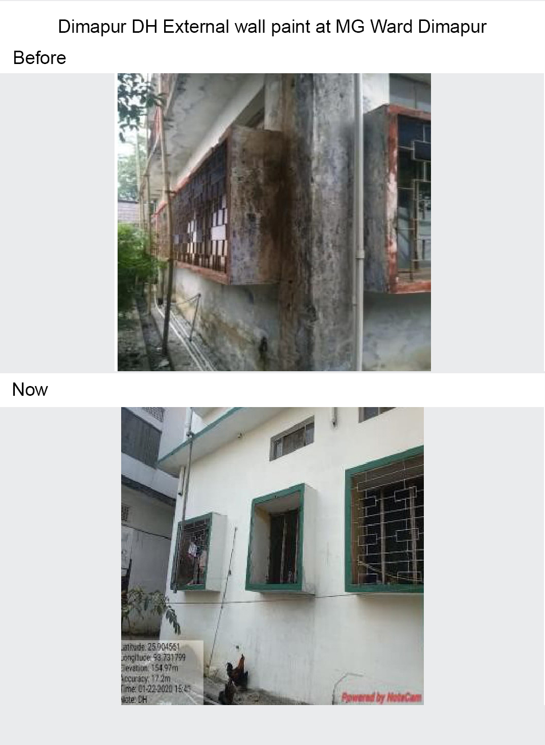Dimapur-DH-External-wall-paint-at-MG-Ward-Dimapur