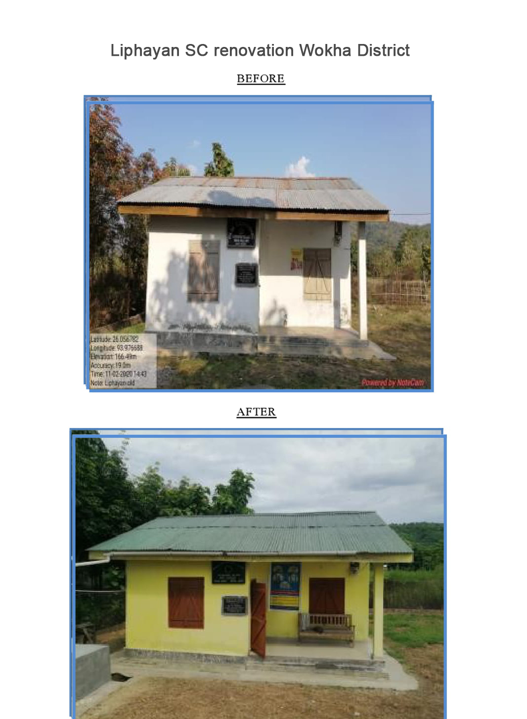 Liphayan-SC-renovation-Wokha-District