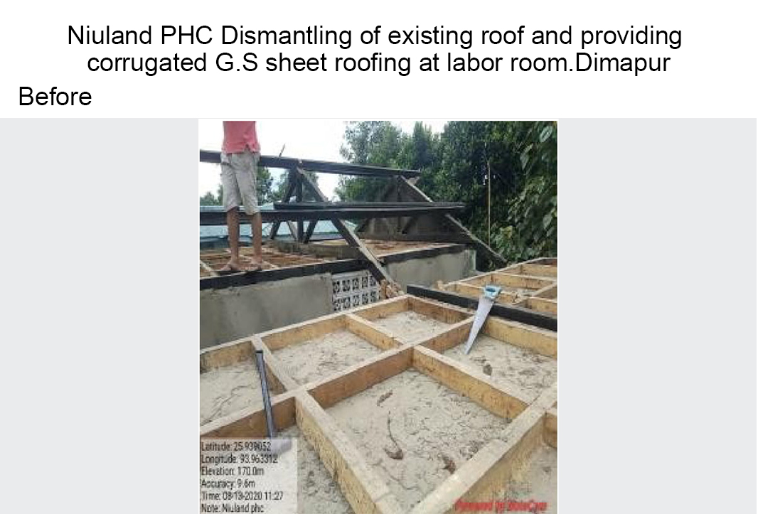 Niuland-PHC-Dismantling-of-existing-roof-and-providing-before