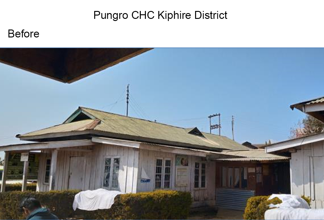 Pungro-CHC-Kiphire-District-before