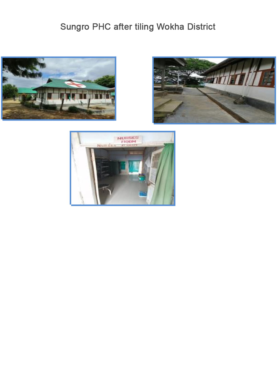 Sungro-PHC-after-tiling-Wokha-District