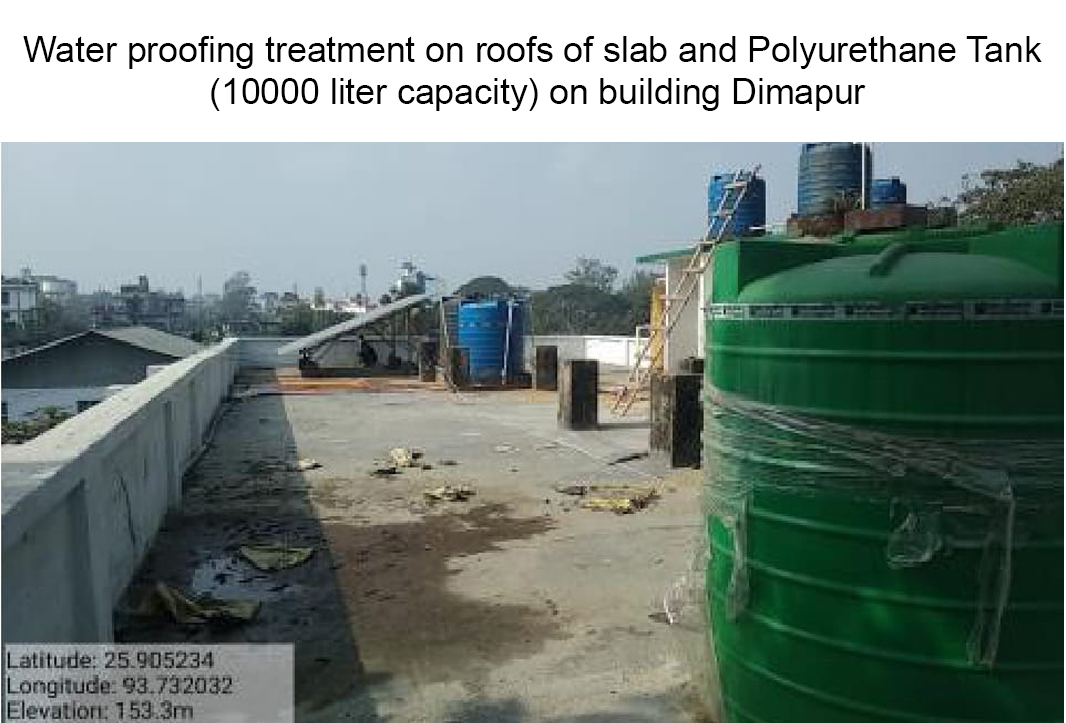 Water-proofing-treatment-on-roofs-of-slab-dimapur